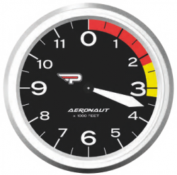 Aeronaut dial black feet