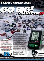 QUATTRO Audible Altimeter